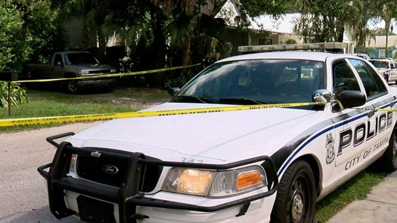 Tampa Police investigate murder-suicide at home on West Alfred Street