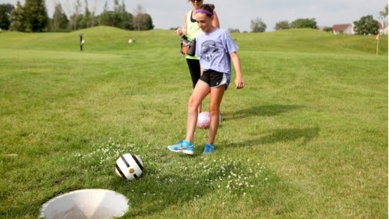 Footgolf is a major kick in Portsmouth