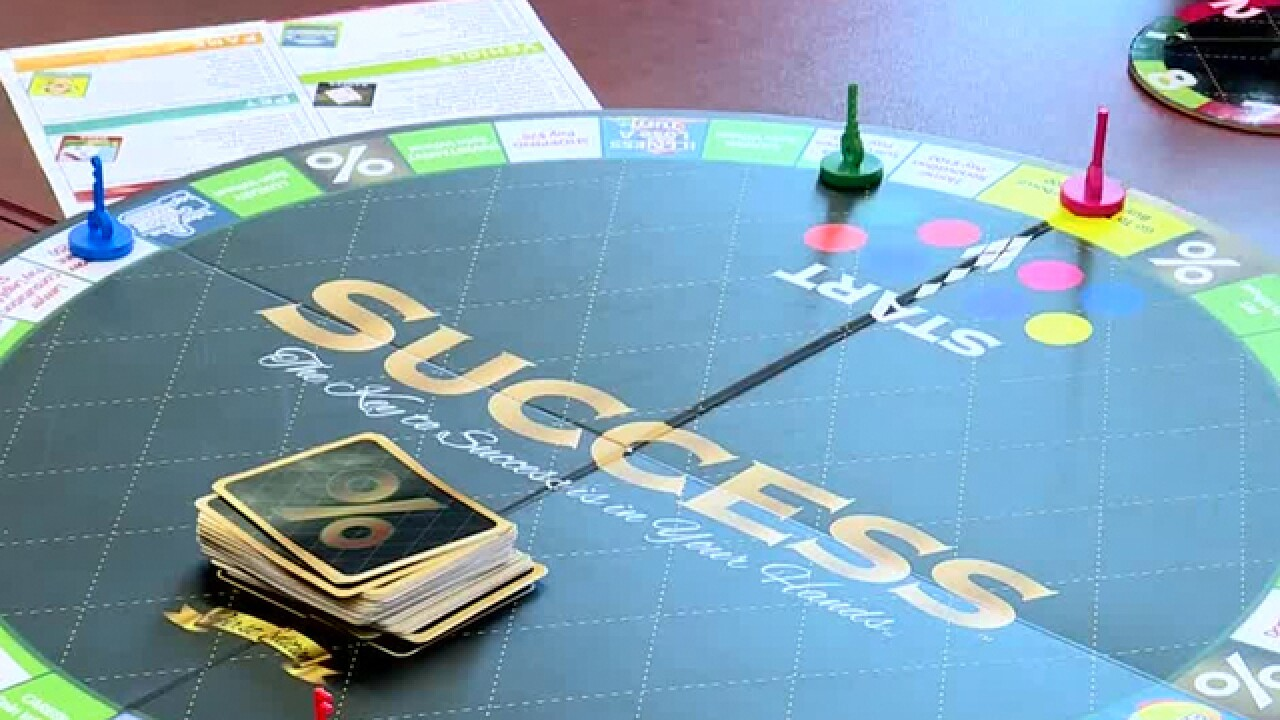 'SUCCESS' Board Game Helps Educate High School Students About Finances