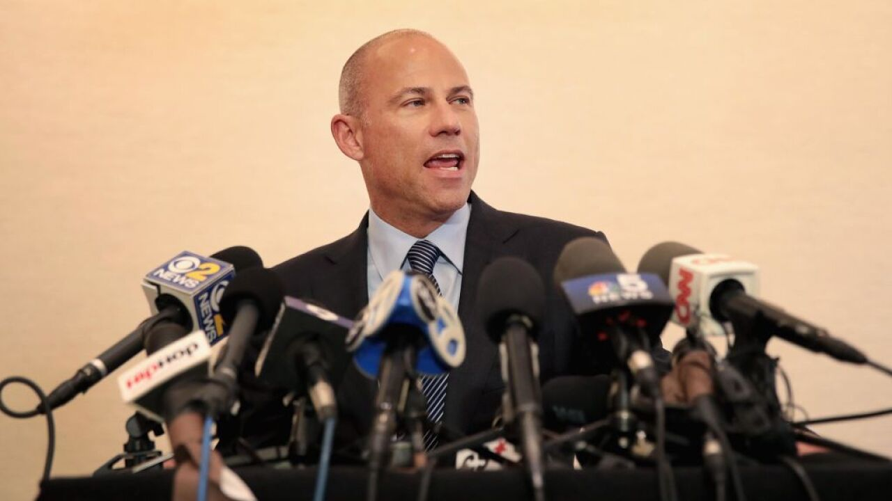 Prosecutor: Avenatti arrested on alleged bail violation
