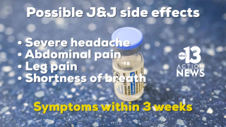 johnson and johnson side effects