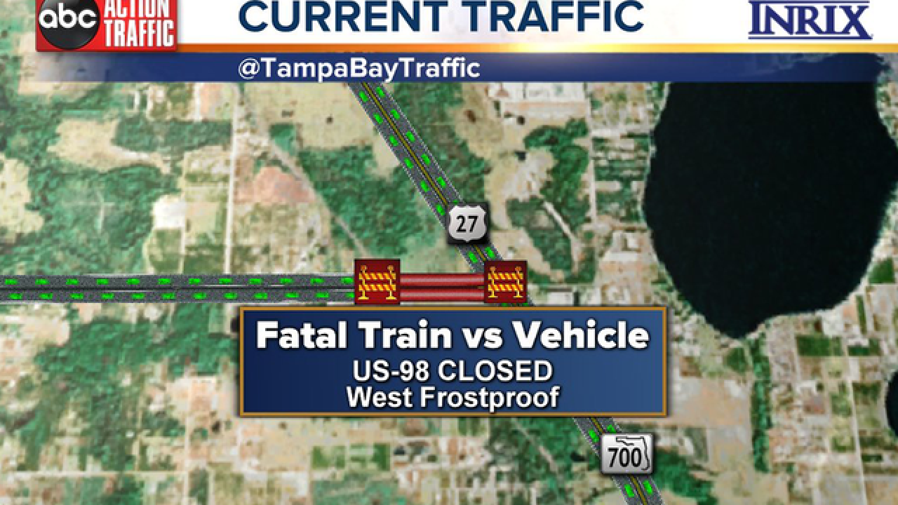 2 Dead After Driving Vehicle Into 27th Car Of Csx Train In Polk County