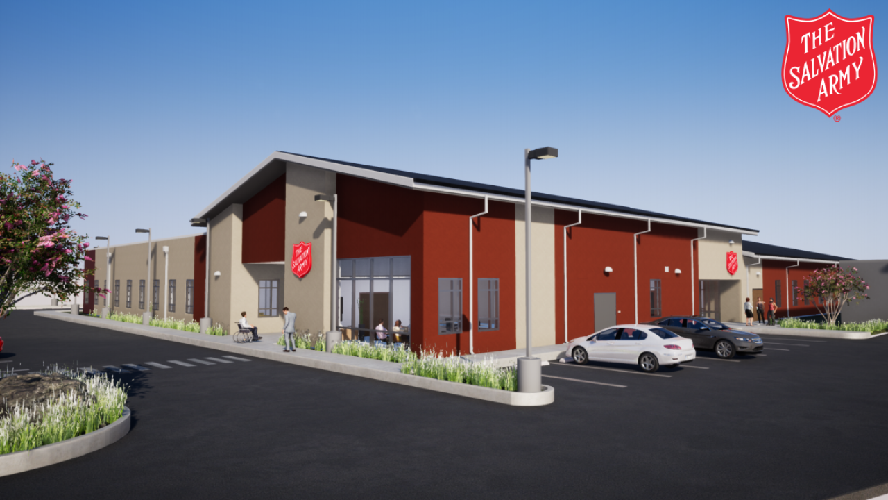 Construction is picking up on a new facility for The Salvation Army of the Coastal Bend