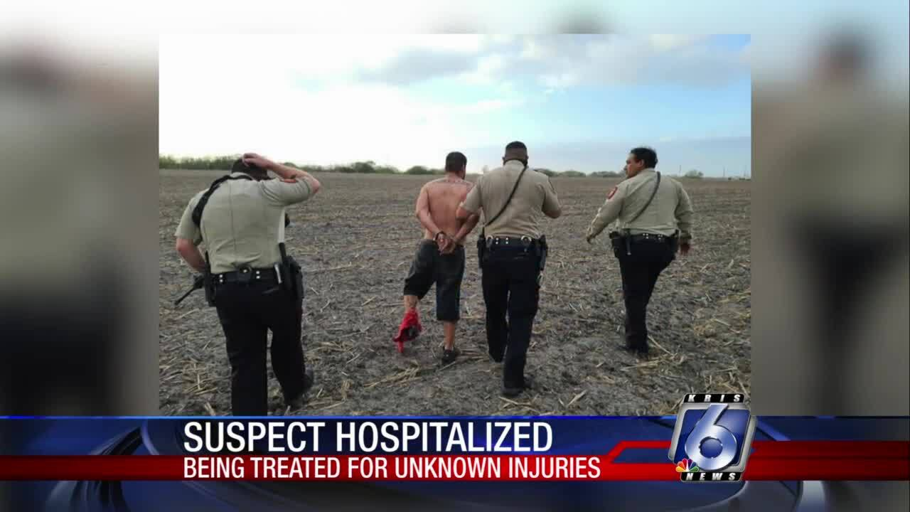 Man hospitalized after incident with constables