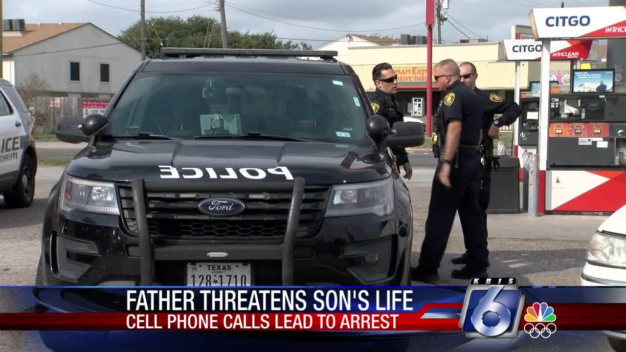 Father arrested after making terroristic threats, child endangerment
