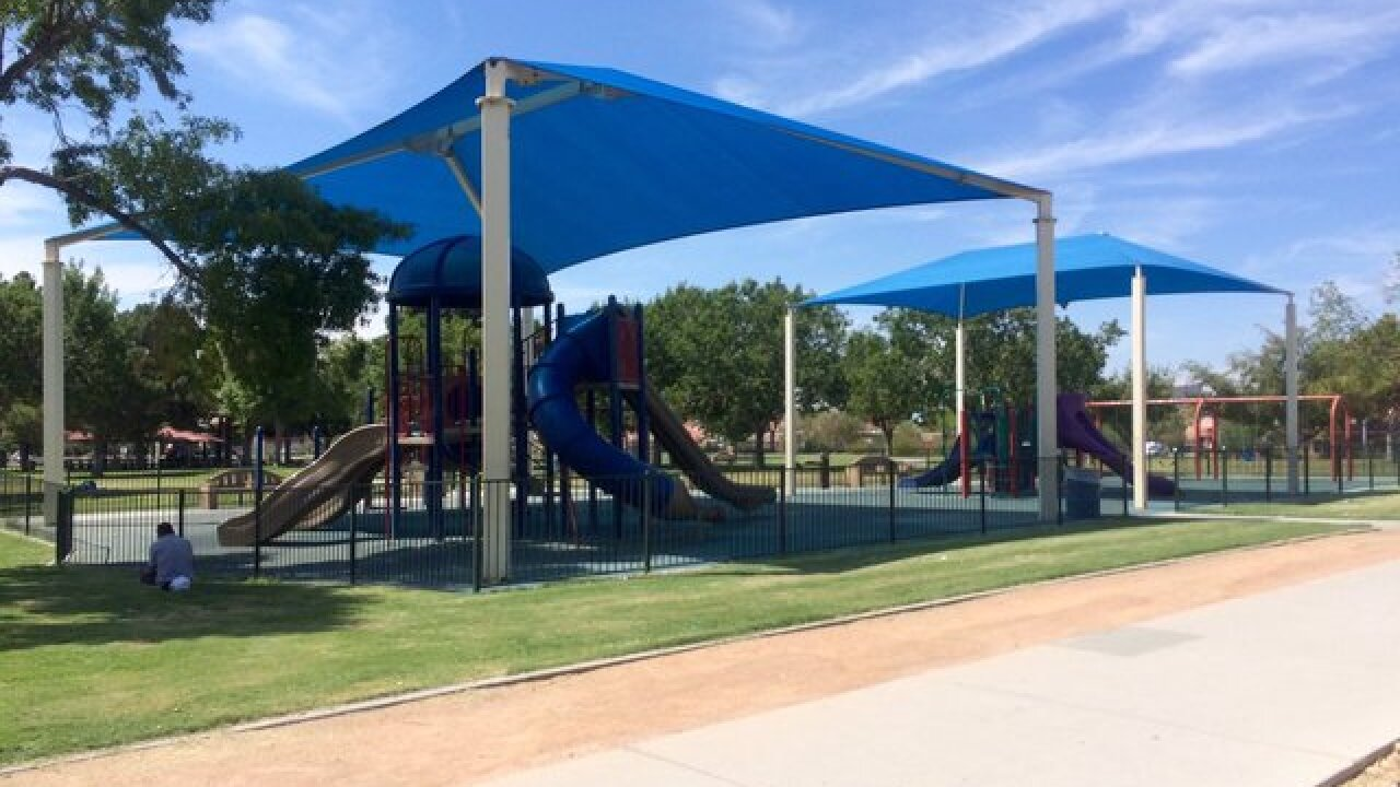 Parents concerned about homeless problem at park