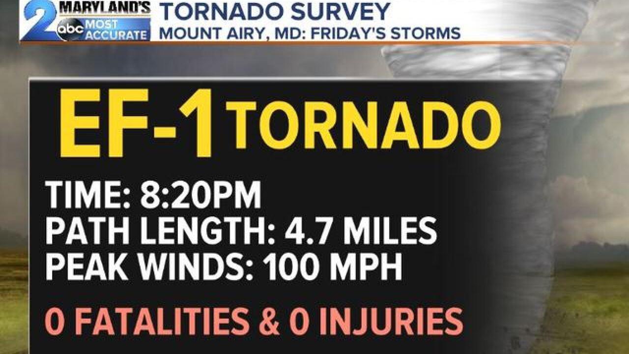STORM SURVEYS: Multiple Tornado Reports