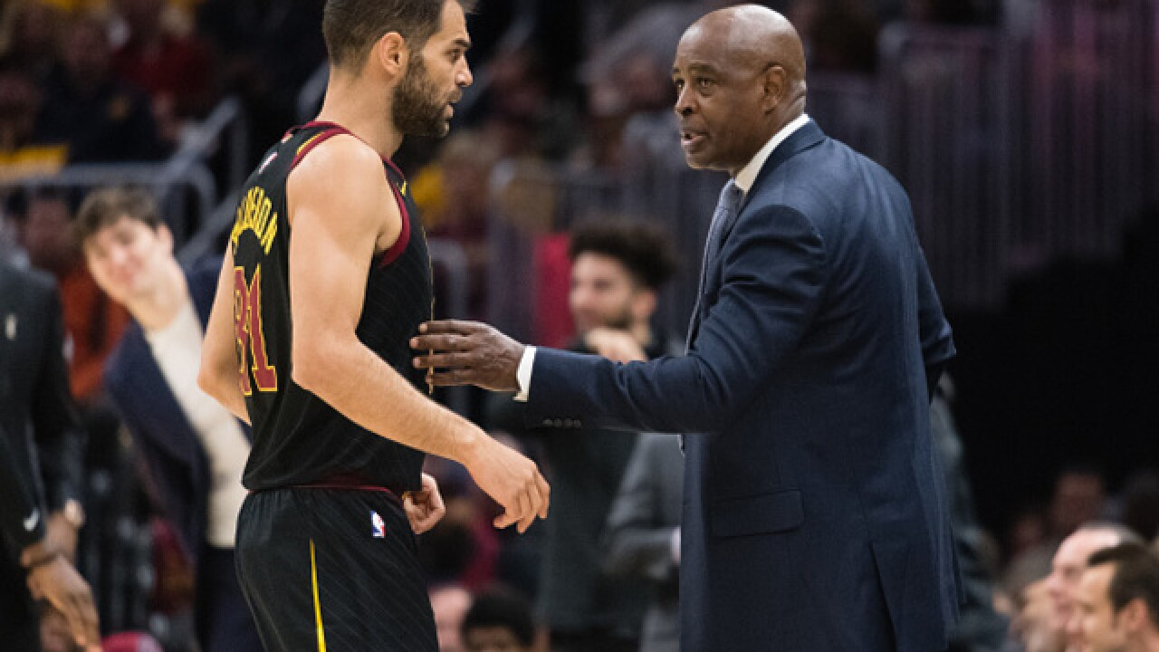 Larry Drew officially Cavaliers head coach