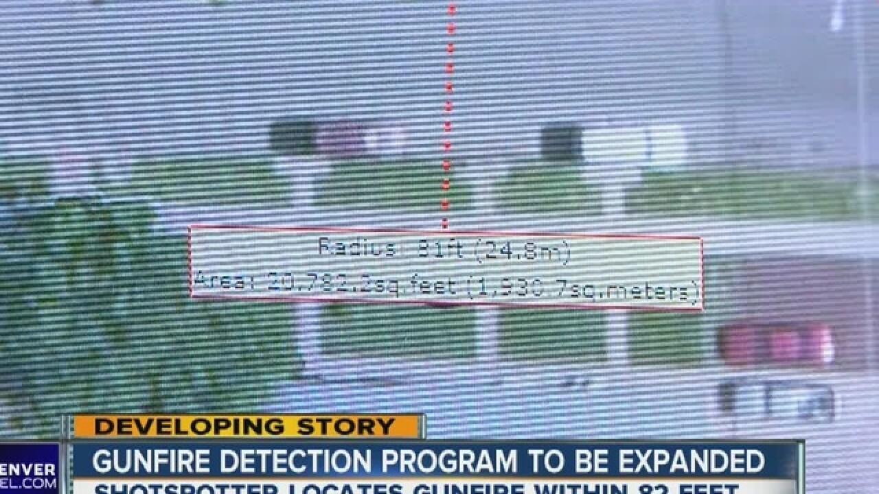 Denver Police seek to expand ShotSpotter program