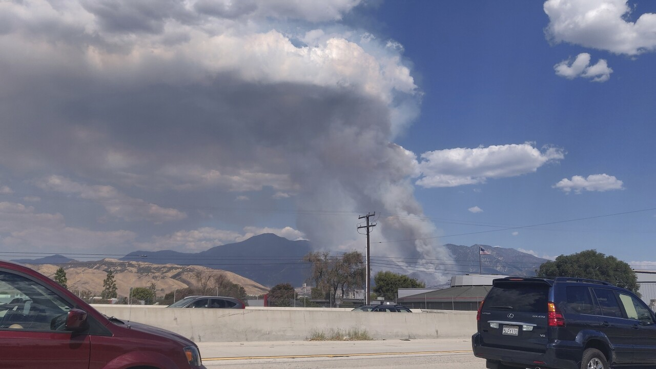 CAL FIRE: El Dorado Fire sparked by pyrotechnic device used during gender reveal party