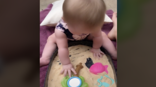 Make Edible Sensory Sand With Cheerios And A Blender