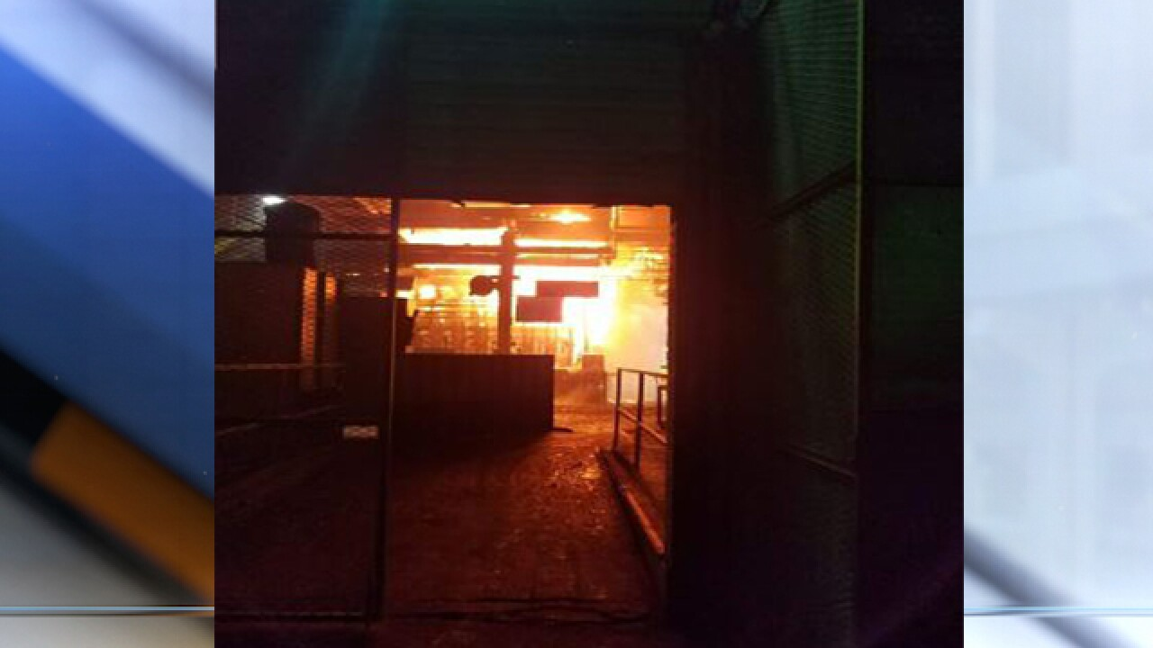 Henryetta FD: explosion at glass plant
