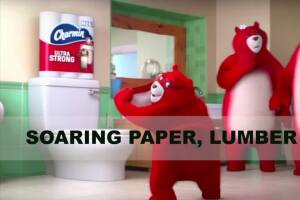 Soaring paper and lumber prices