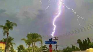 Lightning in Chula Vista