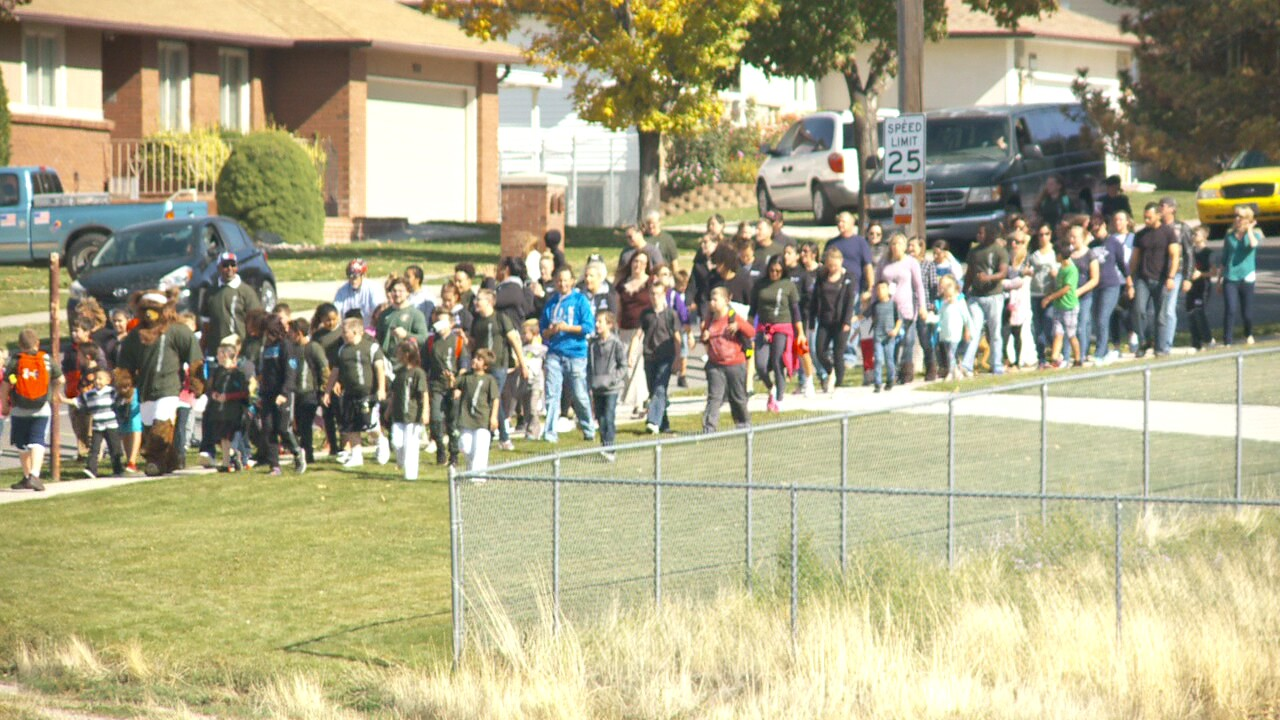 Hundreds walk in support of young Utahn after bullies shout racialslur