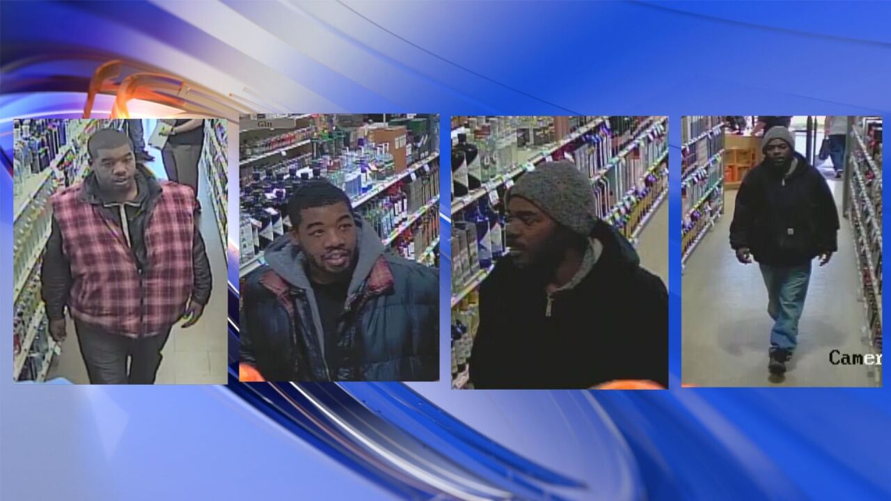 Suffolk police trying to identify larceny suspects