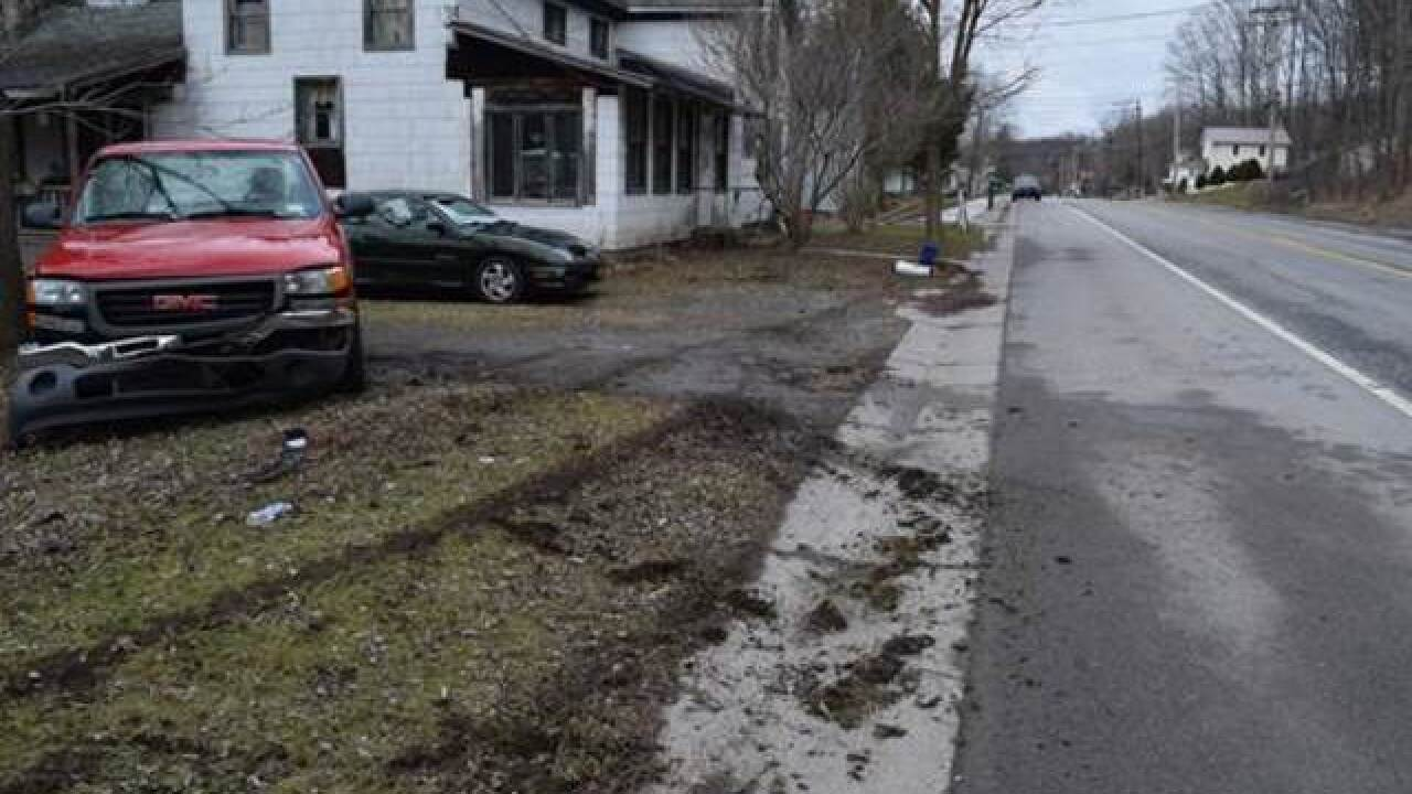 Batavia hit and run driver flees scene