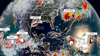 Six tropical storms formed at once. It was a new record