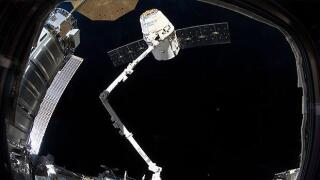 SpaceX Dragon cargo ship reaches International Space Station