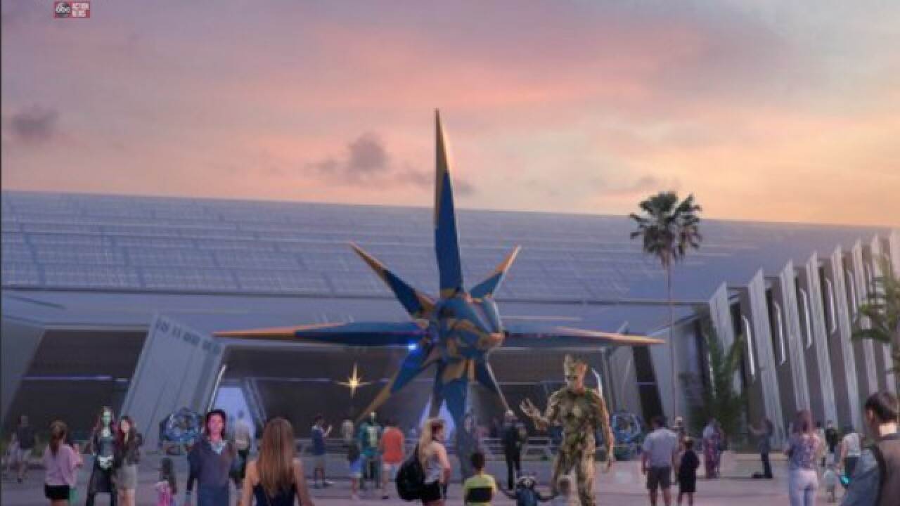 'Guardians of the Galaxy' ride coming to Epcot