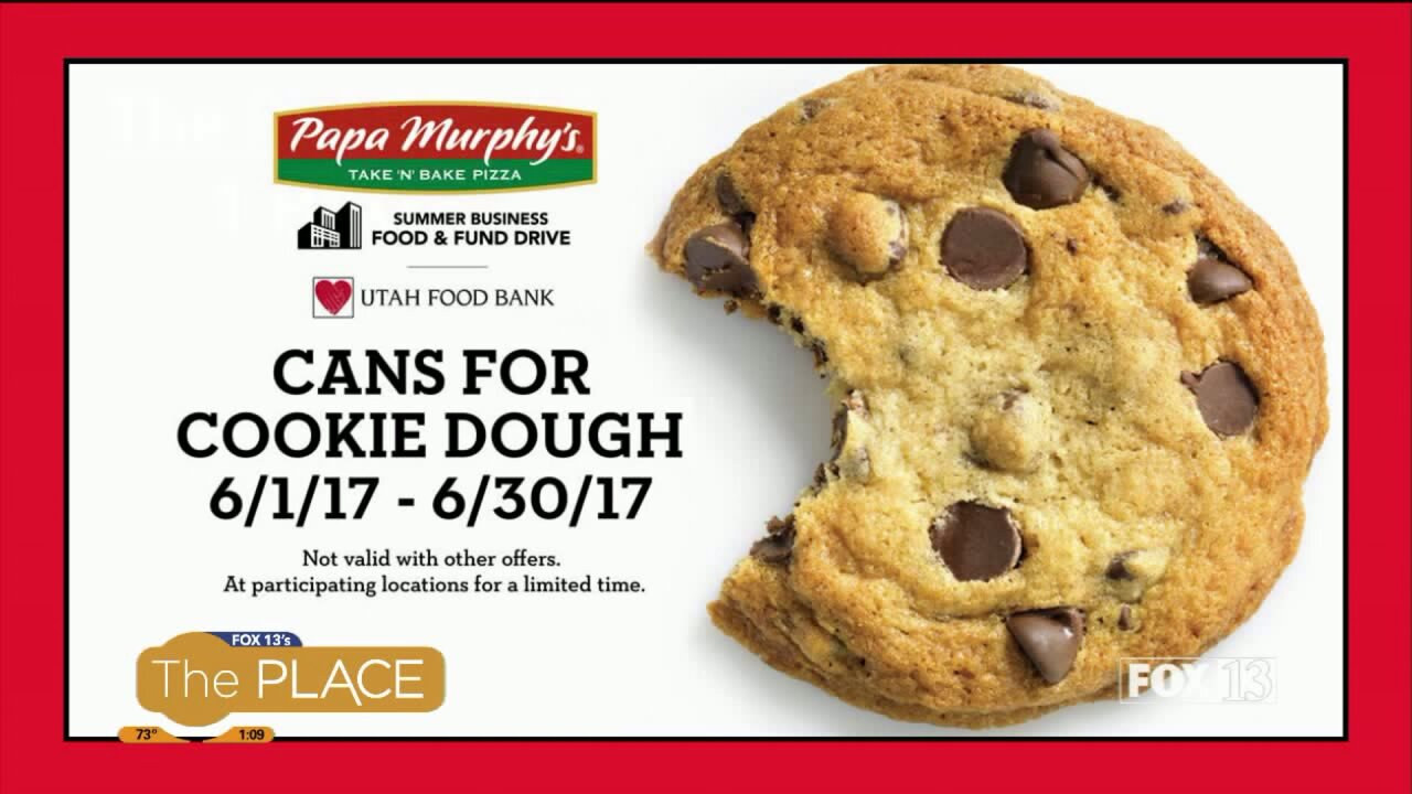Papa Murphy's Cans for Cookie Dough