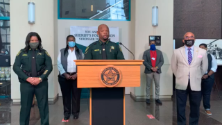 Broward County Sheriff Gregory Tony announces social justice task force