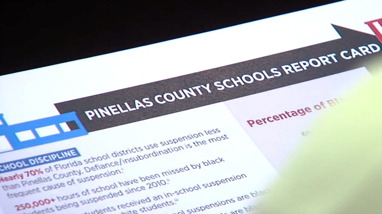 Black students face more arrests in Pinellas