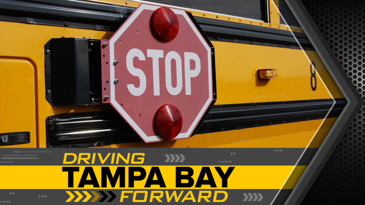 Florida ranks 50th in the U S  for most dangerous drivers around schools