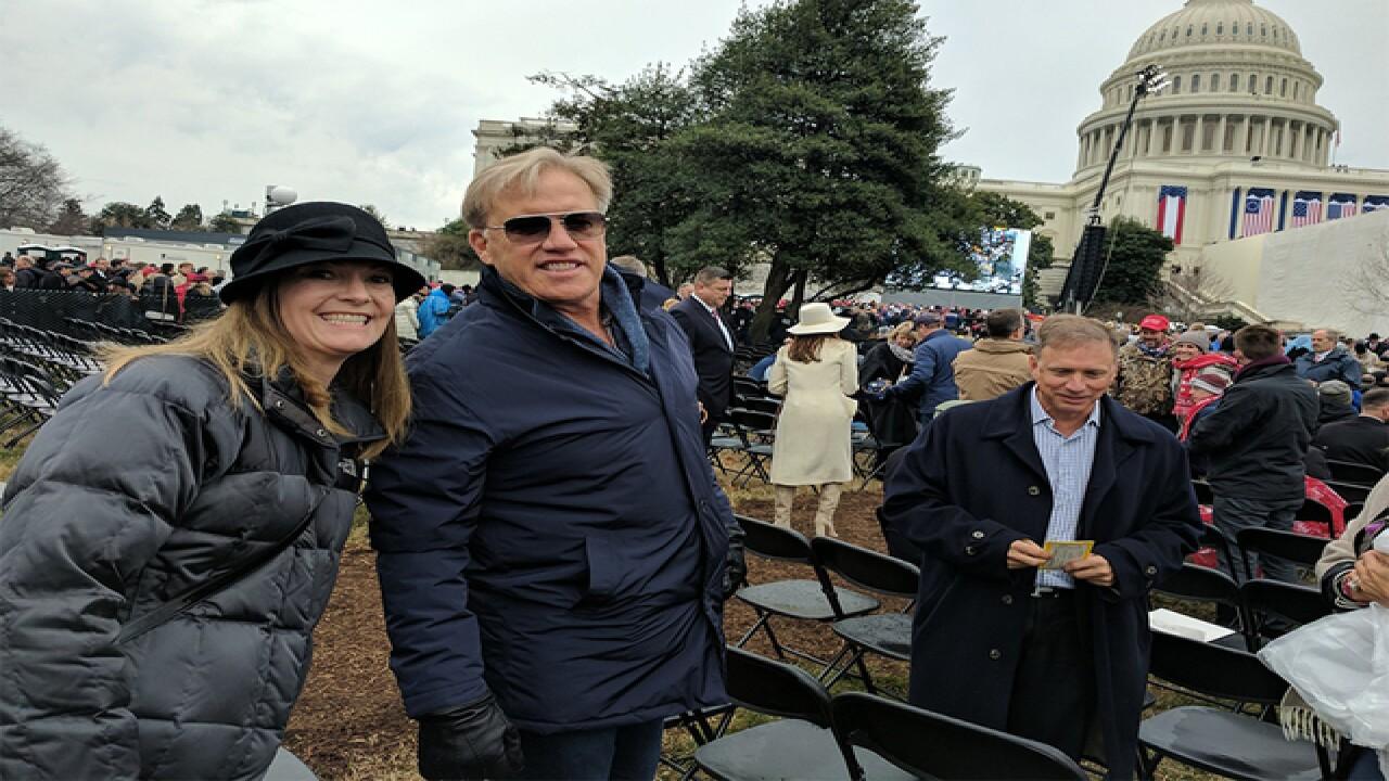John Elway went to Donald Trump's inauguration