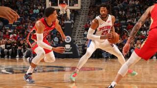 Pistons' Rose tosses pen, NBA pencils him for $25,000 fine