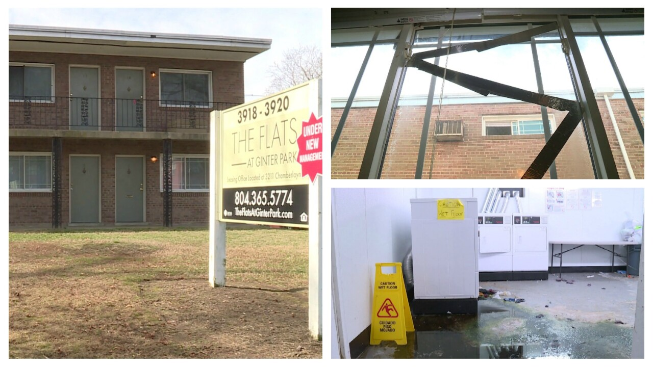 Tenants irate over living conditions at Richmond apartmentcomplex