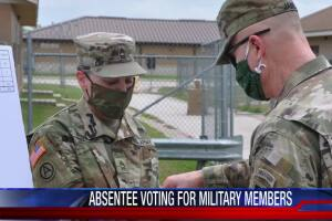 Past the distance: U.S. troops, reservists prepare to vote absentee