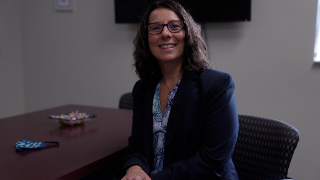 DeWitt Superintendent Shanna Spickard