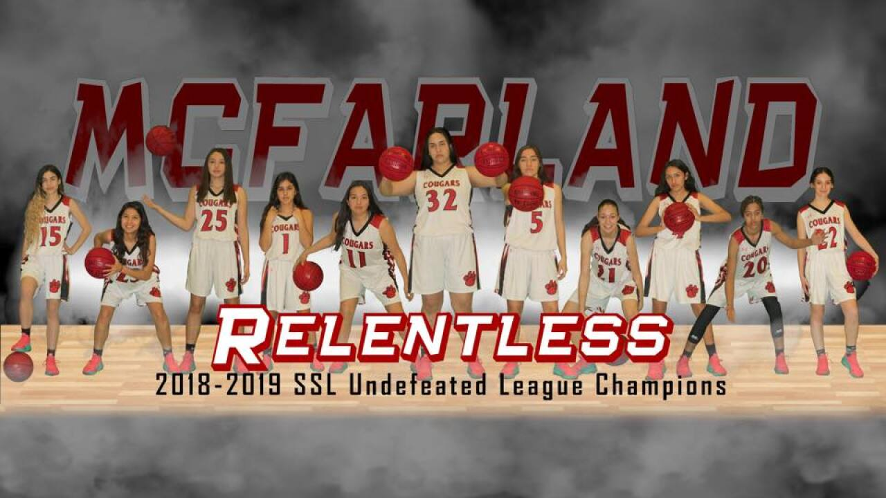 McFarland Girls' Basketball Team