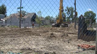 Storm water project in Denver's Cole neighborhood