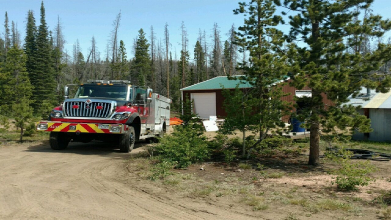 Beaver Creek Fire: Structure defense a priority