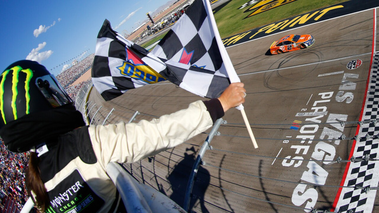 Brad Keselowski wins NASCAR playoff opener, gets 500th for Penske