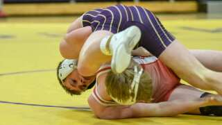 Photos: Northern B/C divisional wrestling in Cut Bank