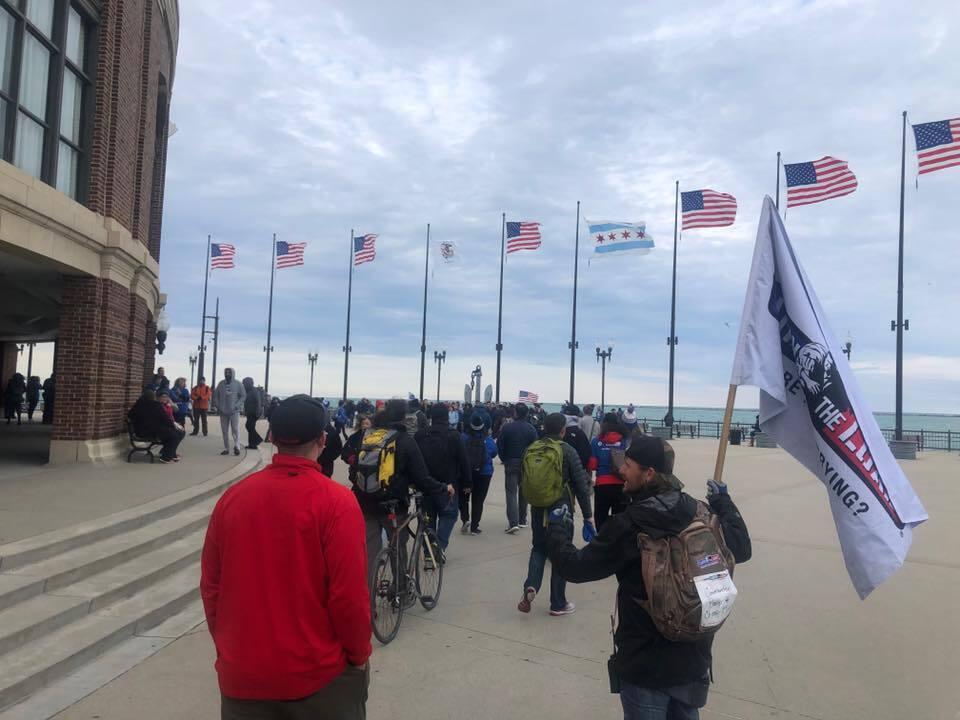 Photos: Non-profit holds Hampton Roads walk event to honor veterans, firstresponders