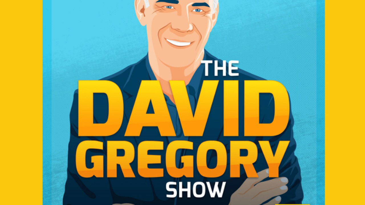 David Gregory launches new interview podcast