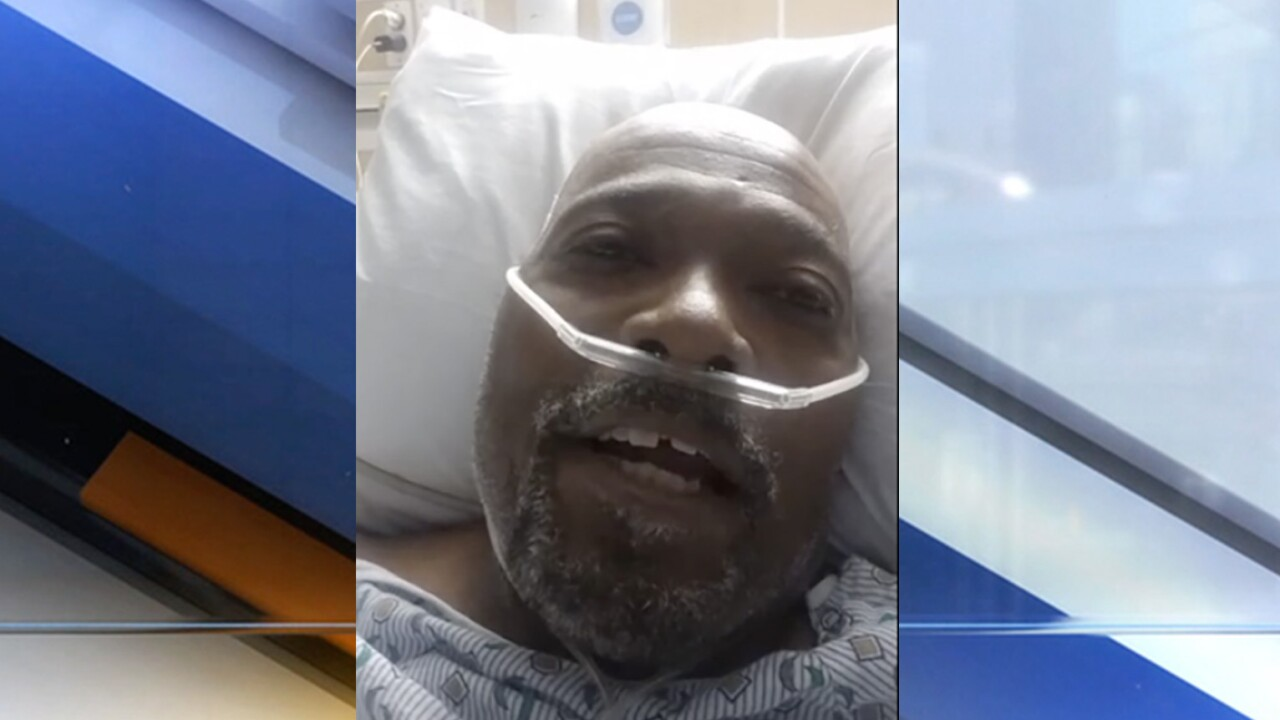'Oh God, please don't let me die like this': Ohio man describes what it's like to have COVID-19