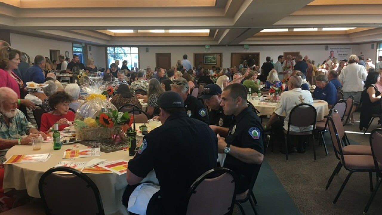 West Fire benefit helps families