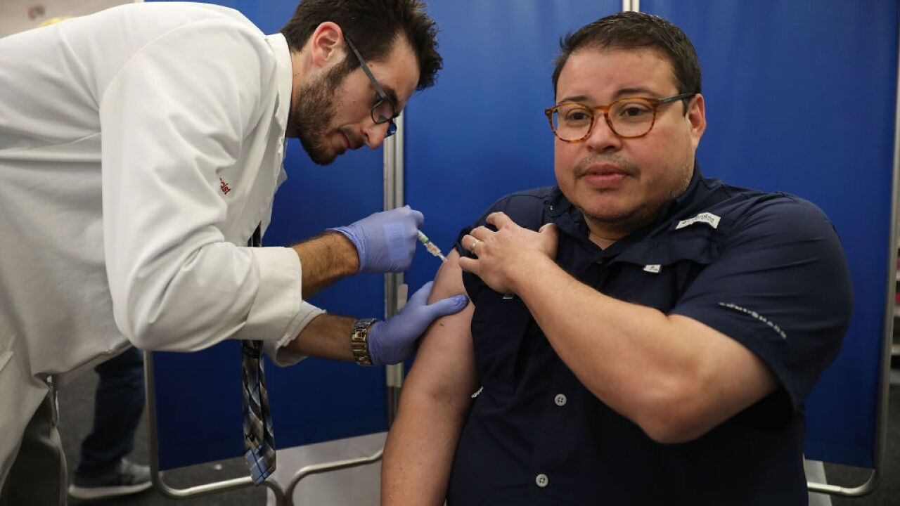 Florida Residents Get Vaccinated Ahead Of Flu Season