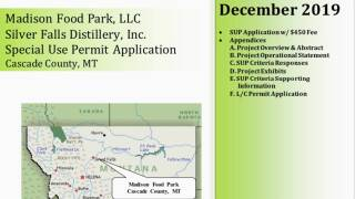 Cascade County officials are reviewing proposal for Silver Falls Distillery