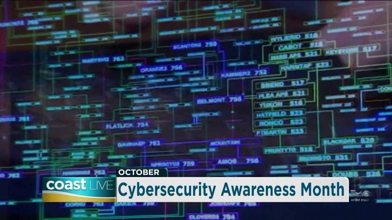Cybersecurity awareness with Atlantic Union Bank on Coast Live