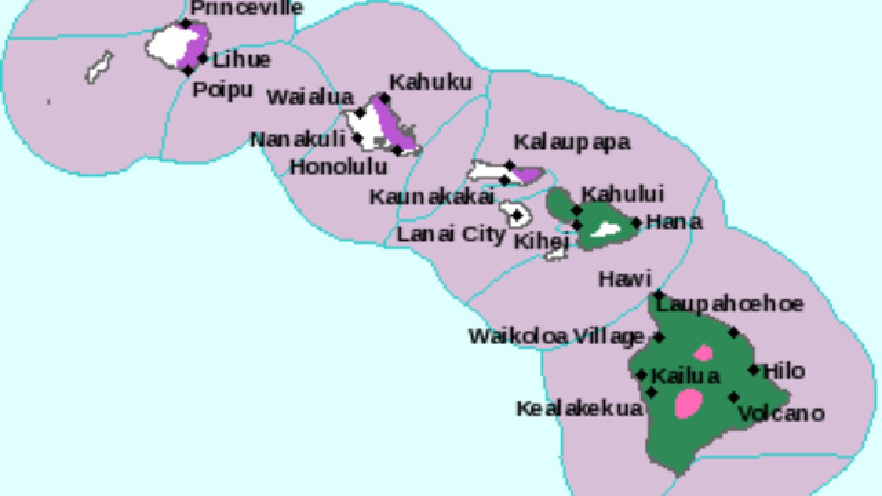 Winter weather warning in Hawaii calls for snow