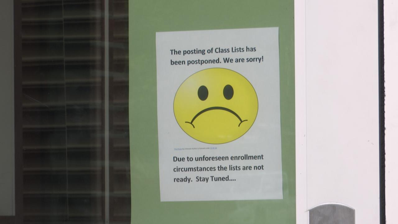MCPS Class Sign