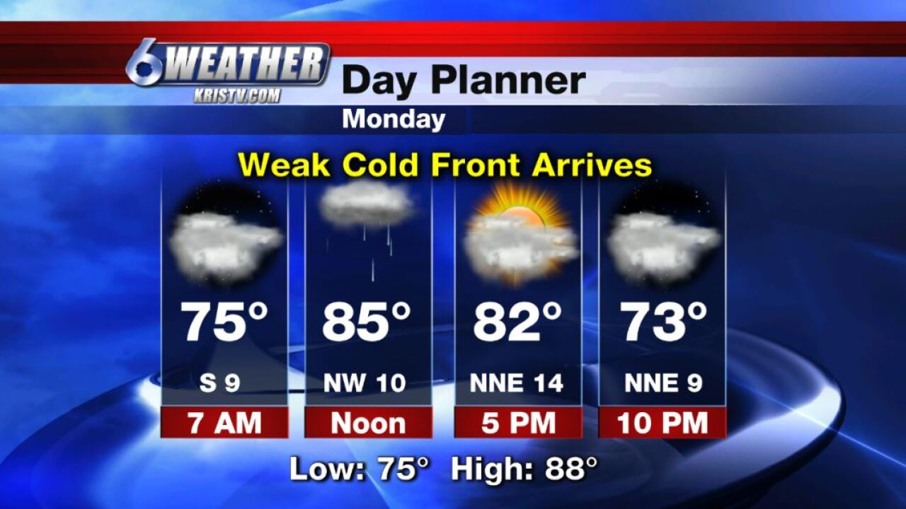 6WEATHER Day Planner for Monday 10-21-19.JPG