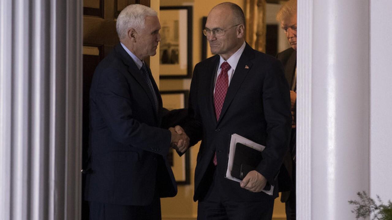 Trump picks Hardee's CEO as Labor secretary
