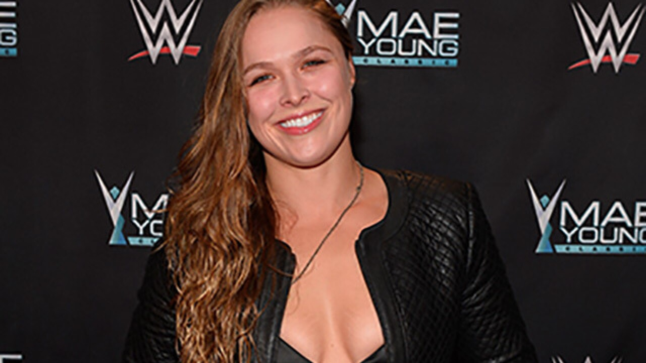 Ronda Rousey to appear on WWE Monday Night Raw in Cleveland